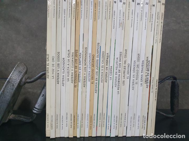 Cómics: COLECCION DE ASTERIX CON 26 LIBROS. COMICS. TEBEOS. GOSCINNY/ UDERZO. - Foto 6 - 192324088