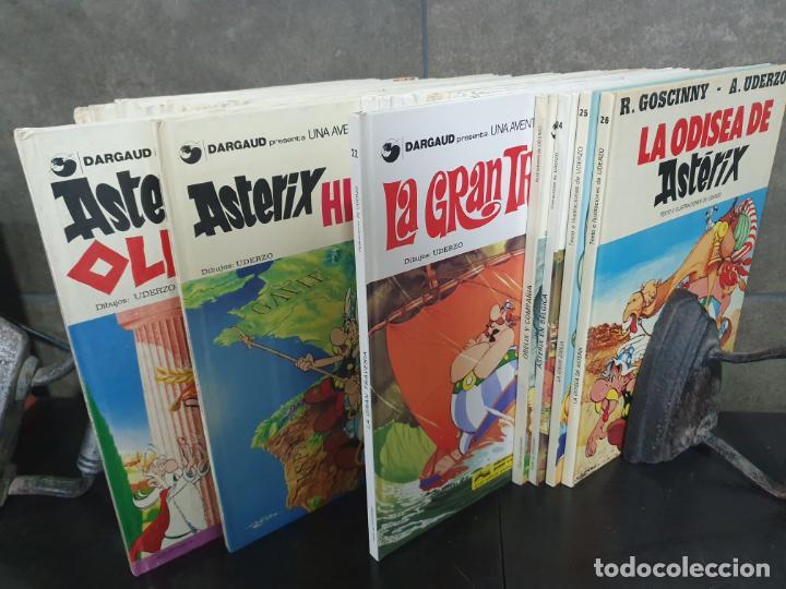 Cómics: COLECCION DE ASTERIX CON 26 LIBROS. COMICS. TEBEOS. GOSCINNY/ UDERZO. - Foto 7 - 192324088