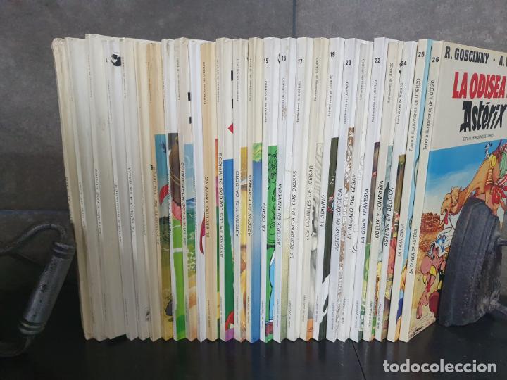 Cómics: COLECCION DE ASTERIX CON 26 LIBROS. COMICS. TEBEOS. GOSCINNY/ UDERZO. - Foto 9 - 192324088