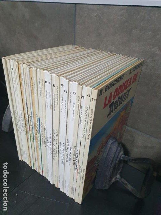 Cómics: COLECCION DE ASTERIX CON 26 LIBROS. COMICS. TEBEOS. GOSCINNY/ UDERZO. - Foto 10 - 192324088