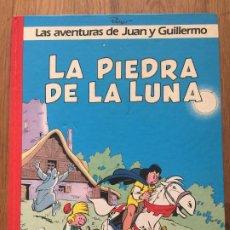 Cómics: LAS AVENTURAS DE JUAN Y GUILLERMO - 4. LA PIEDRA DE LA LUNA - JUNIOR / GRIJALBO - TAPA DURA - GCH1. Lote 192331321