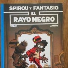 Cómics: SPIROU Y FANTASIO 32 - EL RAYO NEGRO - JUNIOR / GRIJALBO - TAPA DURA - MUY BUEN ESTADO - GCH1. Lote 192548268