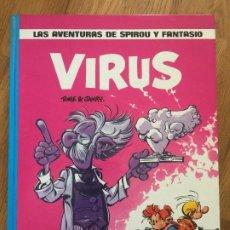 Cómics: SPIROU Y FANTASIO 19 - VIRUS - JUNIOR / GRIJALBO - TAPA DURA - MUY BUEN ESTADO - GCH1. Lote 192548517