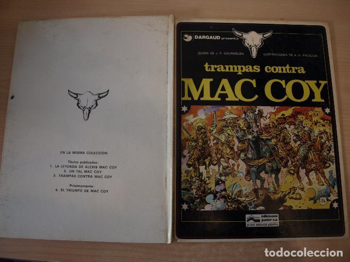 TRAMPAS CONTRA MAC COY - NÚMERO 3 - TAPA DURA - EDICIONES JUNIOR (Tebeos y Comics - Grijalbo - Mac Coy)