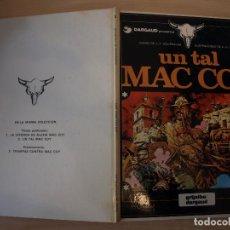Cómics: UN TAL MAC COY - NÚMERO 2 - TAPA DURA - EDICIONES JUNIOR. Lote 192667483