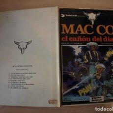 Cómics: MAC COY EL CAÑON DEL DIABLO - NÚMERO 9 - TAPA DURA - EDICIONES JUNIOR. Lote 192667952