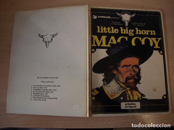 MAC COY LITTLE BIG HORN - NÚMERO 8 - TAPA DURA - EDICIONES JUNIOR (Tebeos y Comics - Grijalbo - Mac Coy)