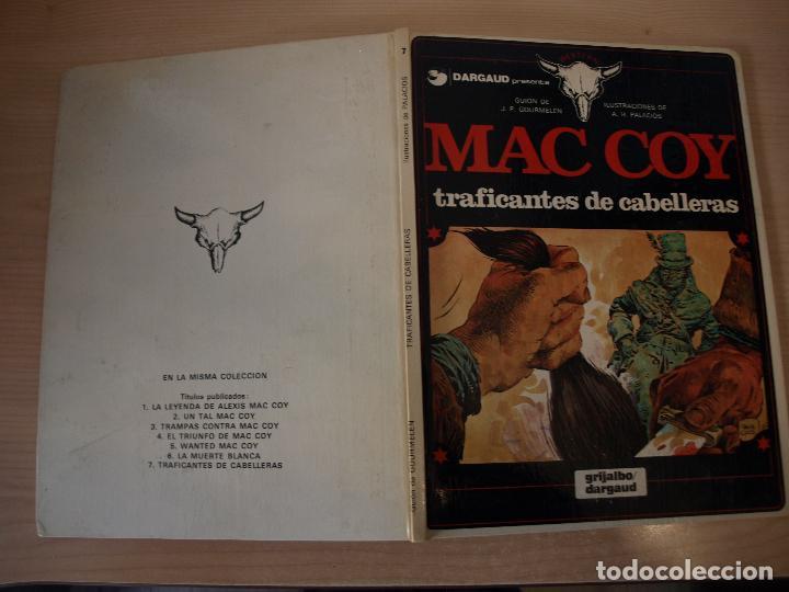 MAC COY TRAFICANTES DE CABELLERAS - NÚMERO 7 - TAPA DURA - EDICIONES JUNIOR (Tebeos y Comics - Grijalbo - Mac Coy)