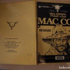 Cómics: WANTED MAC COY- NÚMERO 5 - TAPA DURA - EDICIONES JUNIOR. Lote 192668635