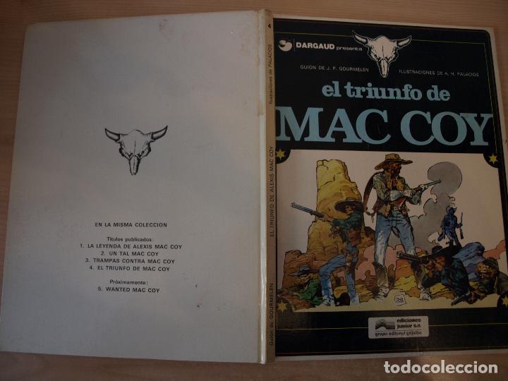 EL TRIUNFO DE MAC COY- NÚMERO 4 - TAPA DURA - EDICIONES JUNIOR (Tebeos y Comics - Grijalbo - Mac Coy)