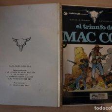 Cómics: EL TRIUNFO DE MAC COY- NÚMERO 4 - TAPA DURA - EDICIONES JUNIOR. Lote 192668772