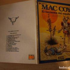 Cómics: MAC COY EL FANTASMA DEL ESPAÑOL - NÚMERO 16 - TAPA DURA - EDICIONES JUNIOR. Lote 192669221