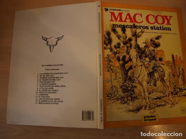 MAC COY MESCALEROS STATION - NÚMERO 15 - TAPA DURA - EDICIONES JUNIOR (Tebeos y Comics - Grijalbo - Mac Coy)