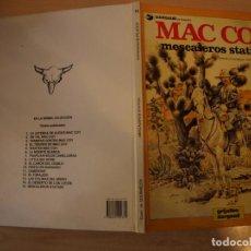 Cómics: MAC COY MESCALEROS STATION - NÚMERO 15 - TAPA DURA - EDICIONES JUNIOR. Lote 192669397