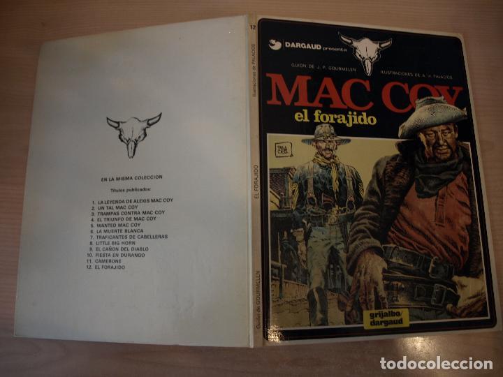 MAC COY EL FORAJIDO - NÚMERO 12 - TAPA DURA - EDICIONES JUNIOR (Tebeos y Comics - Grijalbo - Mac Coy)