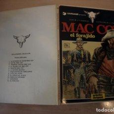 Cómics: MAC COY EL FORAJIDO - NÚMERO 12 - TAPA DURA - EDICIONES JUNIOR. Lote 192672610
