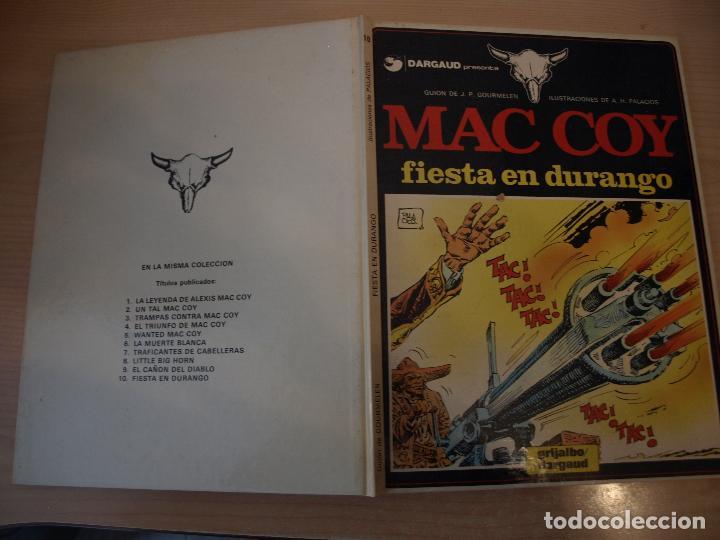 MAC COY FIESTA EN DURANGO - NÚMERO 10 - TAPA DURA - EDICIONES JUNIOR (Tebeos y Comics - Grijalbo - Mac Coy)