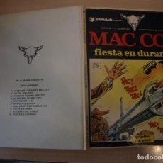 Cómics: MAC COY FIESTA EN DURANGO - NÚMERO 10 - TAPA DURA - EDICIONES JUNIOR. Lote 192672800