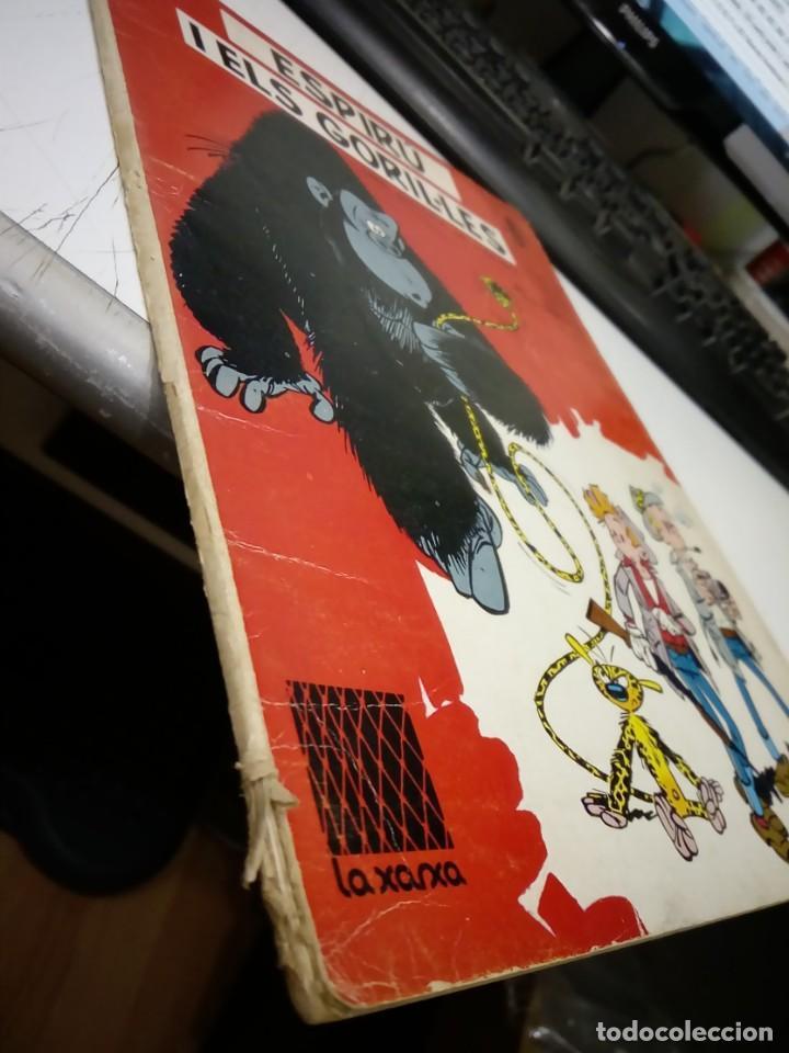 Cómics: FRANQUIN - ESPIRU I ELS GORIL·LES - COL·LECCIÓ LA XARXA Nº 6 - EN CATALA - TAPA TOVA - ANYS 60 - RAR - Foto 4 - 170873205