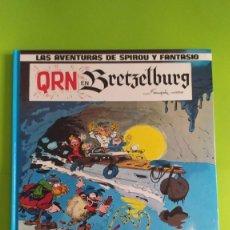 Cómics: LAS AVENTURAS DE SPIROU Y FANTASIO - QRN EN BRETZETBURG - 1990. Lote 192745282