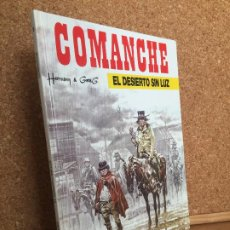 Cómics: COMANCHE 5 - EL DESIERTO SIN LUZ - HERMANN & GREG - JUNIOR / GRIJALBO - MUY BUEN ESTADO - GCH1. Lote 192788628