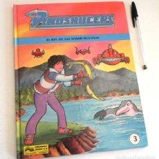 Cómics: DINOSAUCERS 3 - EL REY DE LAS HAMBURGUESAS - CÓMIC GRIJALBO MONDADORI ED. JUNIOR - AÑOS 90 TAPA DURA. Lote 192921091