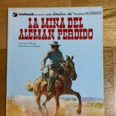 Comics: LA MINA DEL ALEMÁN PERDIDO TENIENTE BLUEBERRY NÚMERO 1. Lote 193191642