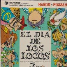 Cómics: LAS AVENTURAS DEL CALIFA HARUN EL PUSSAH -- Nº 2 EL DÍA DE LOS LOCOS. Lote 193381021