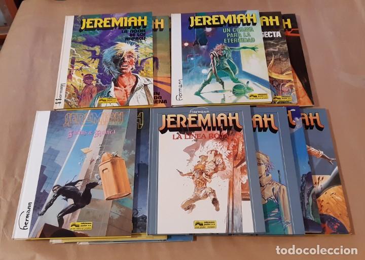 JEREMIAH - JUNIOR (GRIJALBO) / COLECCIÓN COMPLETA (16 NÚMEROS) (Tebeos y Comics - Grijalbo - Jeremiah)
