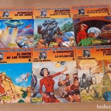 Cómics: LOS DIOSES DEL UNIVERSO - JUNIOR (GRIJALBO) / COLECCIÓN COMPLETA (6 NÚMEROS). Lote 193412836