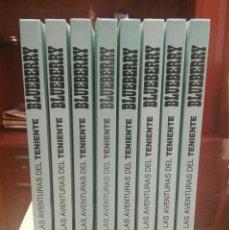 Cómics: COLECCIÓN COMPLETA COMICS TENIENTE BLUEBERRY (GRIJALBO 1994) 8 TOMOS GUAFLEX, PERFECTOS. MORRIS.. Lote 193620730