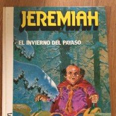 Comics : JEREMIAH 9 - EL INVIERNO DEL PAYASO - HERMANN - JUNIOR / GRIJALBO - TAPA DURA - GCH1. Lote 193675315