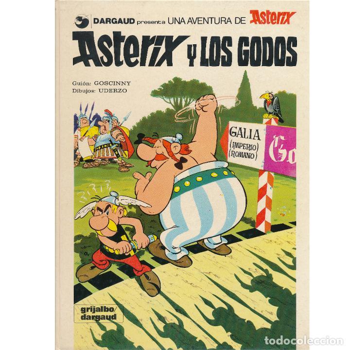 ASTERIX Y LOS GODOS. ALBERT UDERZO. RENE GOSCINNY. GRIJALBO. TAPA DURA (Tebeos y Comics - Grijalbo - Asterix)