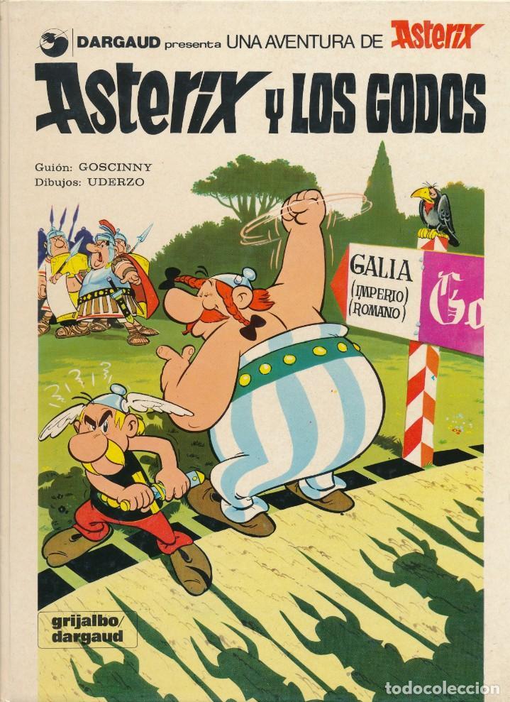 Cómics: Asterix y los godos. Albert Uderzo. Rene Goscinny. Grijalbo. Tapa dura - Foto 3 - 193888238