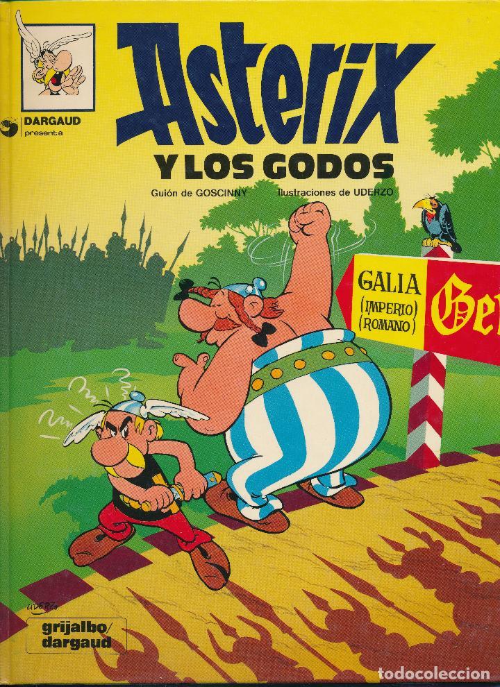Cómics: Asterix y los godos. Albert Uderzo. Rene Goscinny. Grijalbo 1980. Tapa dura - Foto 3 - 193888381