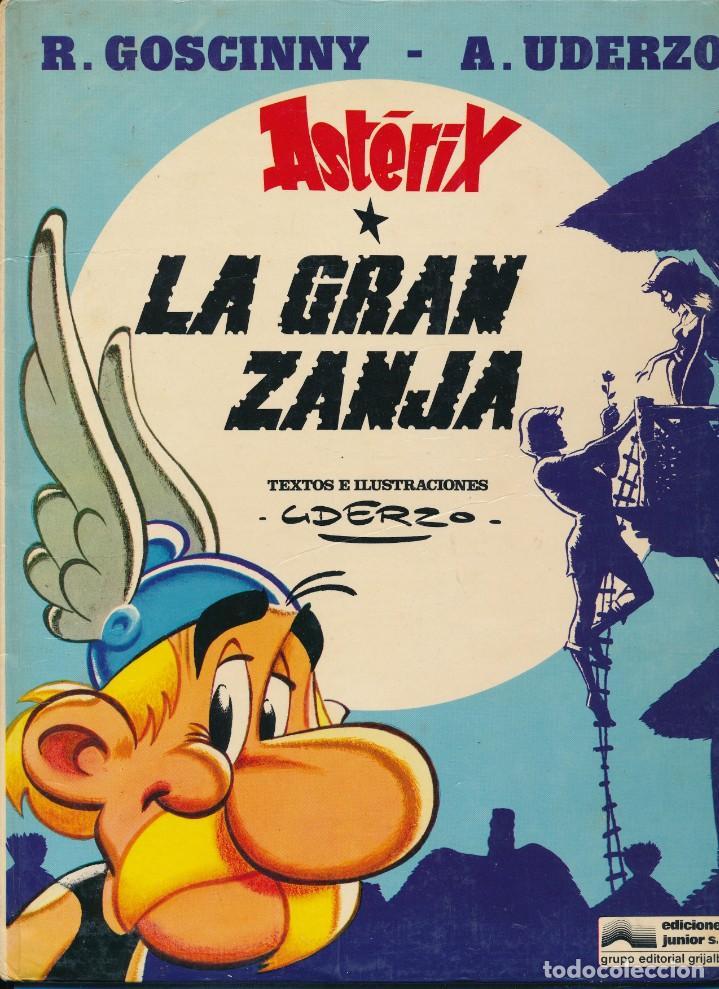 Cómics: Asterix. La gran zanja. Albert Uderzo. Grijalbo. Tapa dura - Foto 3 - 193891491