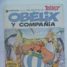 Cómics: ALBUM DE ASTERIX DE JUVENTUD - GRIJALBO: OBELIX Y COMPAÑIA . 1978. Lote 193961975
