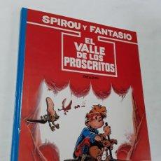 Cómics: SPIROU 27 EL VALLE DE LOS PROSCRITOS , 1989 , GRIJALBO , NUEVO.. Lote 194099322