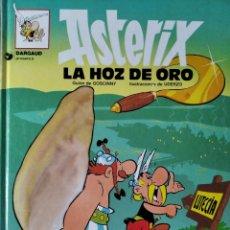 Cómics: ASTERIX , LA HOZ DE ORO - EDICIONES JUNIOR GRIJALBO 1994- TAPA DURA . Lote 194106782