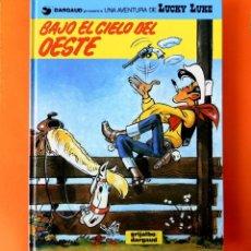 Cómics: LUCKY LUKE, Nº 52, BAJO EL CIELO DEL OESTE, DE MORRIS - GRIJALBO -1993.- 1ª EDICIÓN. NUEVO, DIFÍCIL. Lote 194082448