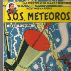 Fumetti: LAS AVENTURAS DE BLAKE Y MORTIMER. Nº 5. S.O.S METEOROS. EDGAR P. JACOBS. JUNIOR/GRIJALBO 1985(ST/B3. Lote 194147381