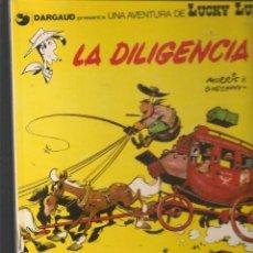 Cómics: UNA AVENTURA DE LUCKY LUKE. Nº 24. LA DILIGENCIA. JUNIOR/GRIJALBO. (ST/B3. Lote 194151566