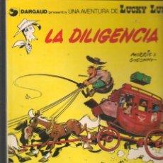 Cómics: UNA AVENTURA DE LUCKY LUKE. Nº 24. LA DILIGENCIA. JUNIOR/GRIJALBO. (ST/B3. Lote 194151696