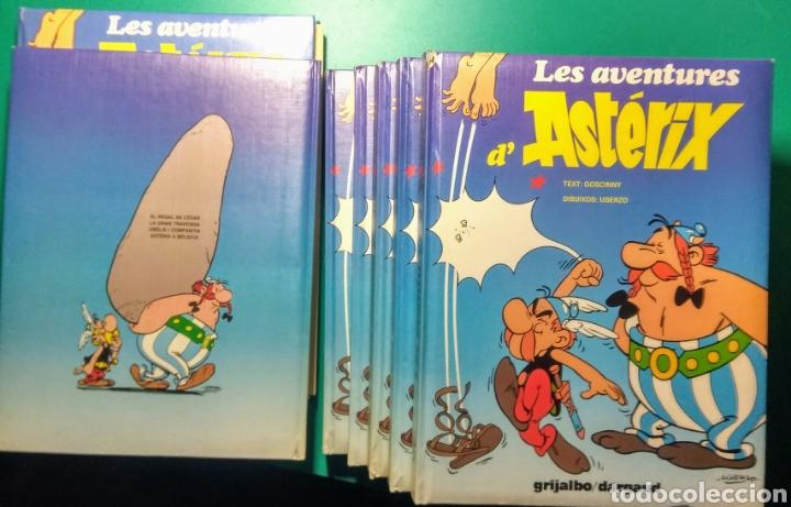 7 LIBROS. LES AVENTURES D'ASTÈRIX. EN CATALAN. (Tebeos y Comics - Grijalbo - Asterix)