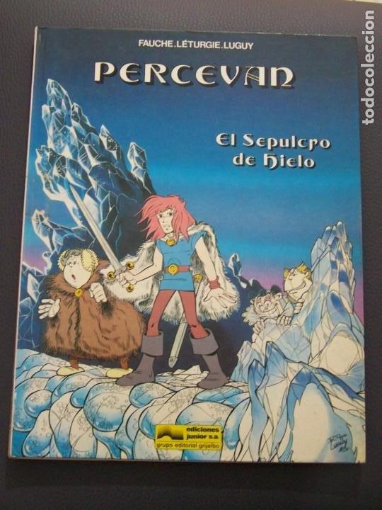 PERCEVAN 2 EL SEPULCRO DE HIELO (Tebeos y Comics - Grijalbo - Percevan)