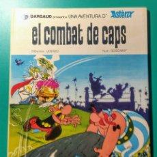 Cómics: ASTÉRIX. EL COMBAT DE CAPS. EN CATALAN.. Lote 194160442