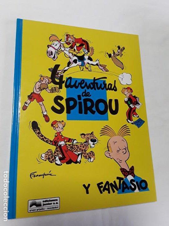 SPIROU 30 4 AVENTURAS DE SPIROU Y FANTASIO DE FRANQUIN , GRIJALBO, 1992 , NUEVO. (Tebeos y Comics - Grijalbo - Spirou)