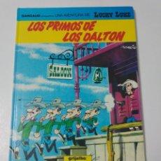 Cómics: LUCKY LUKE NÚMERO 48 LOS PRIMOS DE LOS DALTON 1992 GRIJALBO/DARGAUD. Lote 194225838