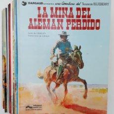 Cómics: LOTE, TENIENTE BLUEBERRY (14 EJEMPLARES) EDICIONES JUNIOR, 1977-1982 (VER NÚMEROS). Lote 194272910