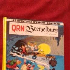 Comics : SPIROU 14 - QRN A BRETZELBURG - FRANQUIN & GREG - CARTONE - EN CATALAN. Lote 194306386